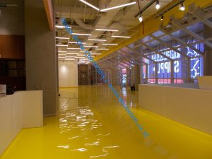 epoxy lantai dalam departement store