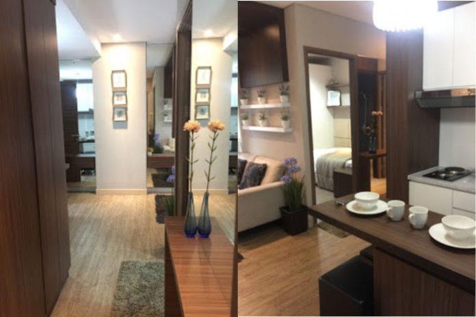 lantai kayu apartement