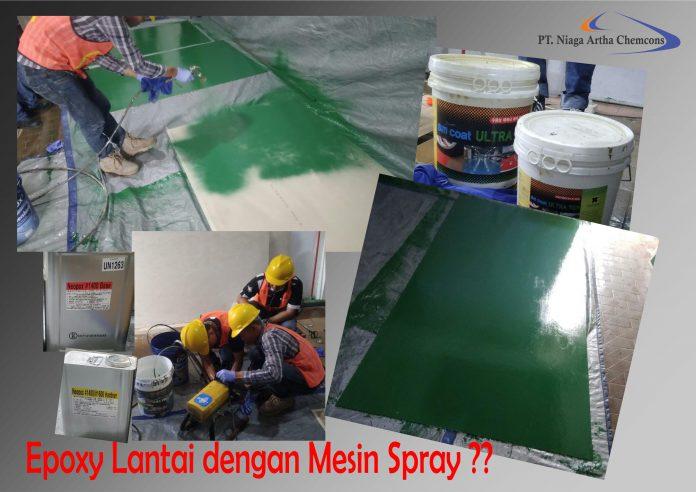epoxy lantai spray