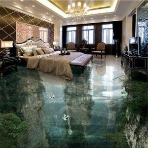 Lantai 3D Untuk Area Rumah